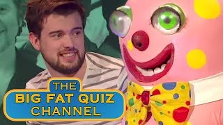 Jack Whitehall is Terrified of Mr Blobby - The Big Fat Quiz Of The '90s