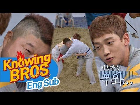 [빅매치] '6연승' 비(Rain) VS '천하장사' 강호동(Kang Ho Dong), 역대급 씨름 대결! 결과는?! 아는 형님(Knowing bros) 58회