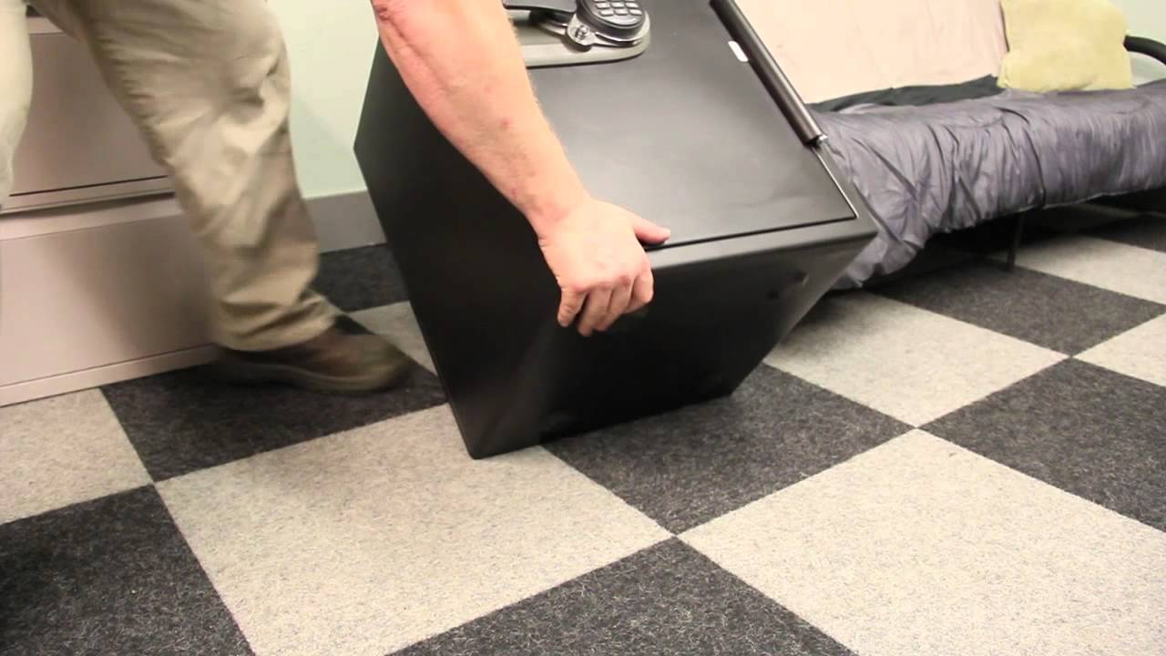 How To Bolt A Safe To The Floor Youtube