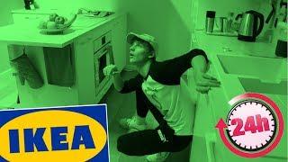 24 HOUR OVERNIGHT CHALLENGE IN IKEA!! *SUCCESS*