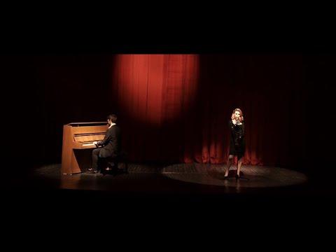 Мима Младеновска и Јован Цветковиќ со одличен кавер на Moon River - песна од филмот Breakfast at Tiffany's