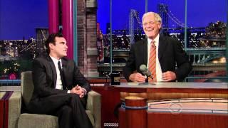 Joaquin Phoenix Return visit on David Letterman show (sept 22 - 2010) HD 1080p