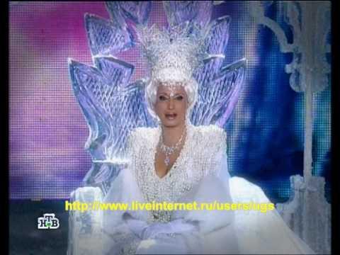 Ирина Аллегрова - Свадебные цветы (НГ на НТВ, 2010 г.)