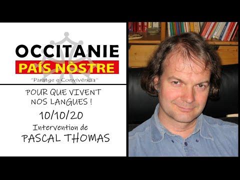 """Soutien d'Occitanie País Nòstre à l'appel à manifester """"Pour que vivent nos langues"""" le 10/10/2020"""