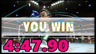 Wii Sports - All Sports No Baseball: 4:47.90 [PB]