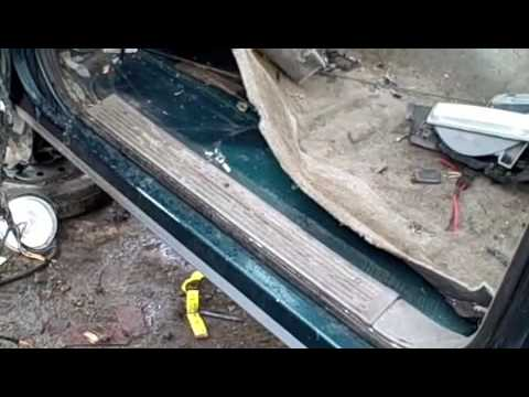 How To Cut Out A Rocker Panel Youtube