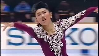 伊藤みどり Midori Ito 1991 NHK Trophy - Free Skating - Piano Concerto by Rachmaninoff