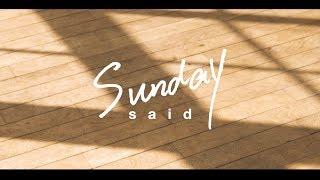 """said """"Sunday""""【MV】from 1st Single """"Sunday"""" 3P3B-85"""