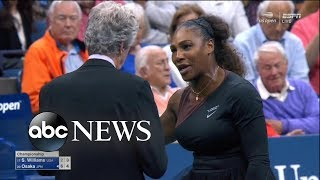 Serena Williams was fined $17,000 for arguing with the chair umpire