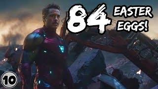 84 Easter Eggs In Avengers: Endgame