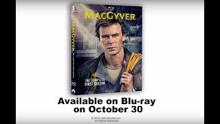 """""""MacGyver: The Complete First Season"""" on Blu-ray October 30, 2018"""