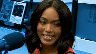 Angela Bassett Interview at The Breakfast Club Power 105.1 (02/24/2016)