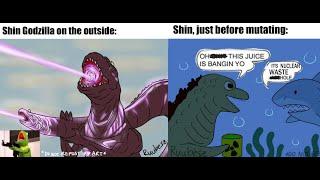 Godzilla KOTM | The Best of Kamata Kun and Shin Godzilla! (Godzilla Comic Dub) (Shin Godzilla MEME)
