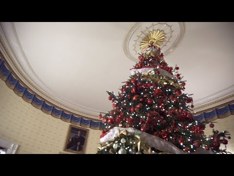 360 Holiday Tour at the White House