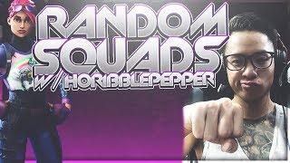 Random Fortnite Squads: Coolest and Funniest Kids Ever!