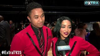 Tinashe & Brandon Armstrong React to Shocking 'DWTS' Elimination