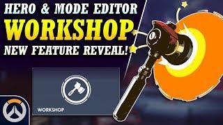 Overwatch 2.0 is HERE! - New Overwatch Workshop Hero & Game Mode Customization!