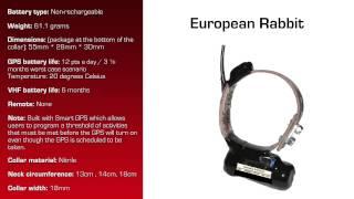 Watch video - GPS Collar for European Rabbit