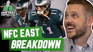 Fantasy Football 2019 - NFC East Breakdown + Late Round Gold - Ep. #735