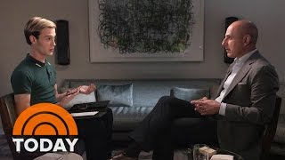 'Hollywood Medium' Tyler Henry Gives Matt Lauer An Emotional Reading | TODAY
