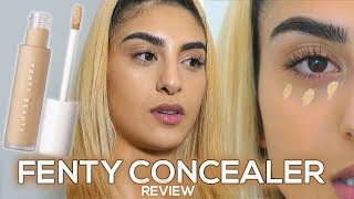 FENTY BEAUTY CONCEALER & POWDER REVIEW