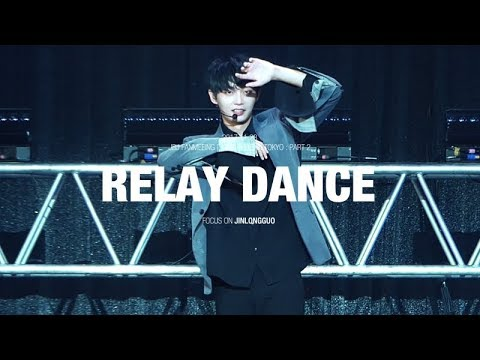 [4K] 171123 Cute Relay Dance - JBJ 용국 김용국 jinlongguo