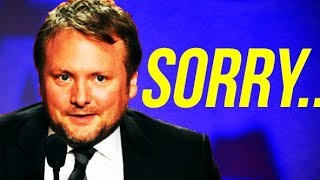 RIAN JOHNSON responds to a GEORGE LUCAS interview sent from a STAR WARS FAN....