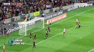 فيديو  ملخص مباراة برشلونة واتلتيكو مدريد ضمن نهائي كأس السوبر الأسباني + تتويج برشلونة   مدونة الزي