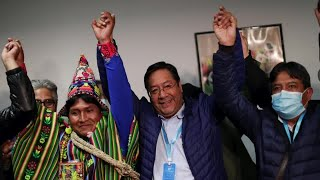 Bolivia's socialists claim victory in presidential election