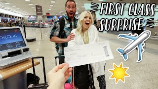 SURPRISING MOM WITH FIRST CLASS TICKET TO GREECE!