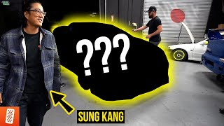 REVEALING our NEXT CAR BUILD with Han (Sung Kang) from Fast and Furious!