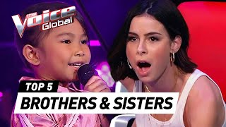 TALENTED SIBLINGS sing together in The Voice Kids