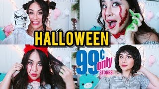 THỬ ĐỒ HALLOWEEN 1 ĐỒNG 🎃 99 CENTS ONLY STORES