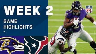 Ravens vs. Texans Week 2 Highlights | NFL 2020