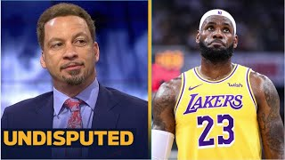 UNDISPUTED | Chris Broussard reacts to Nets are slight title favorite over LeBron and Lakers