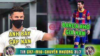 TIN RÔ SI CN 31/7 | CR7 đón 3 TIN SỐC - Messi không tới Nou Camp - Pogba bị dắt mũi sang Liverpool