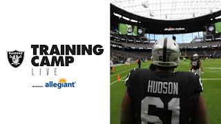 Training Camp Live Look-In - 8.28.20 | Re-Air | Las Vegas Raiders