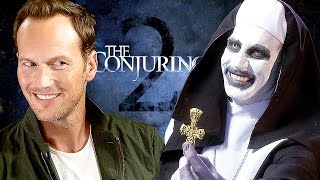 The CONJURING 2 - Creepy Interview with Patrick Wilson  James ...
