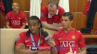 Cristiano Ronaldo hilariously interviews Anderson
