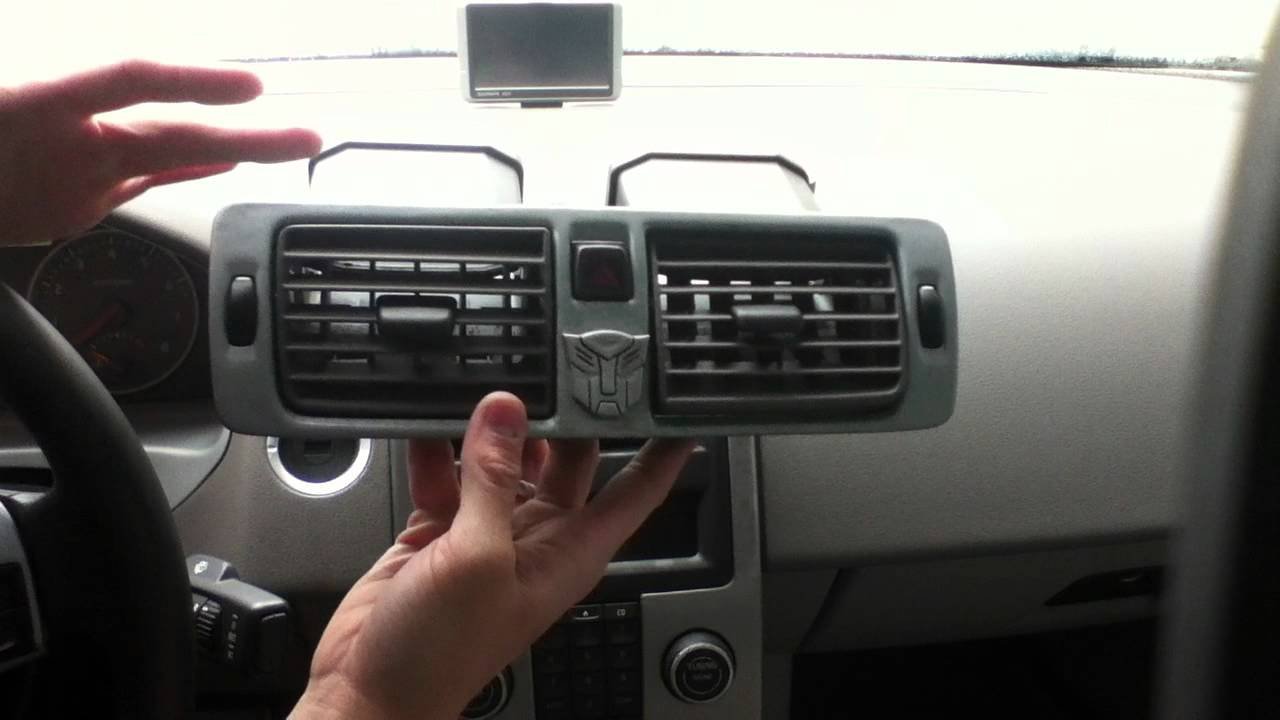 Volvo S40 Center Air Vent Removal Youtube
