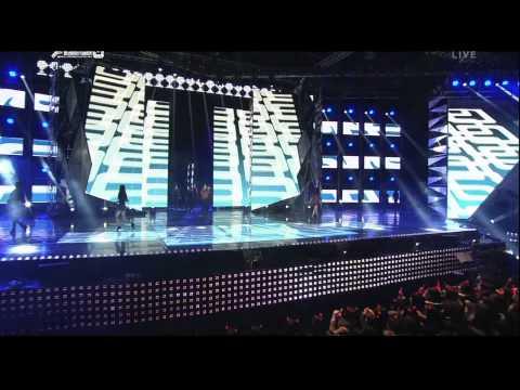 111229 SBS Gayo Daejun - Opening - SNSD + Super Junior