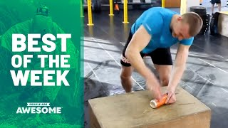 Finger Can Crushing, Golf Tricks & More | Best of the Week