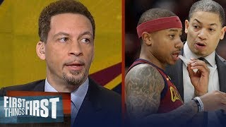 Chris Broussard reacts to the Cavaliers' 121-104 win over the Pistons | FIRST THINGS FIRST
