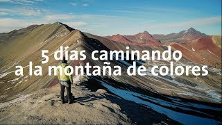 5 días caminando a la montaña arcoíris de Perú!!   Alan por el mundo Perú #17
