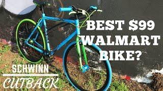 Best $99 Walmart Bike? Schwinn Cutback Urban Bicycle