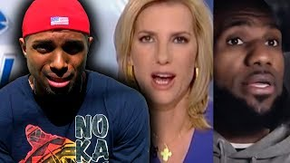 Laura Ingraham racist comment about Lebron James? How?