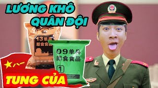 LƯƠNG KHÔ THỊT HỘP CỦ CẢI MUỐI QUÂN ĐỘI NHÂN DÂN TRUNG HOA - CHINESE PLA RATION