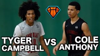 Tyger Campbell vs Cole Anthony Matchup Ends With a GAME WINNER!! | Top 5 Point Guards Battle