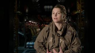 Alien: Covenant: Amy Seimetz Behind the Scenes Movie Interview