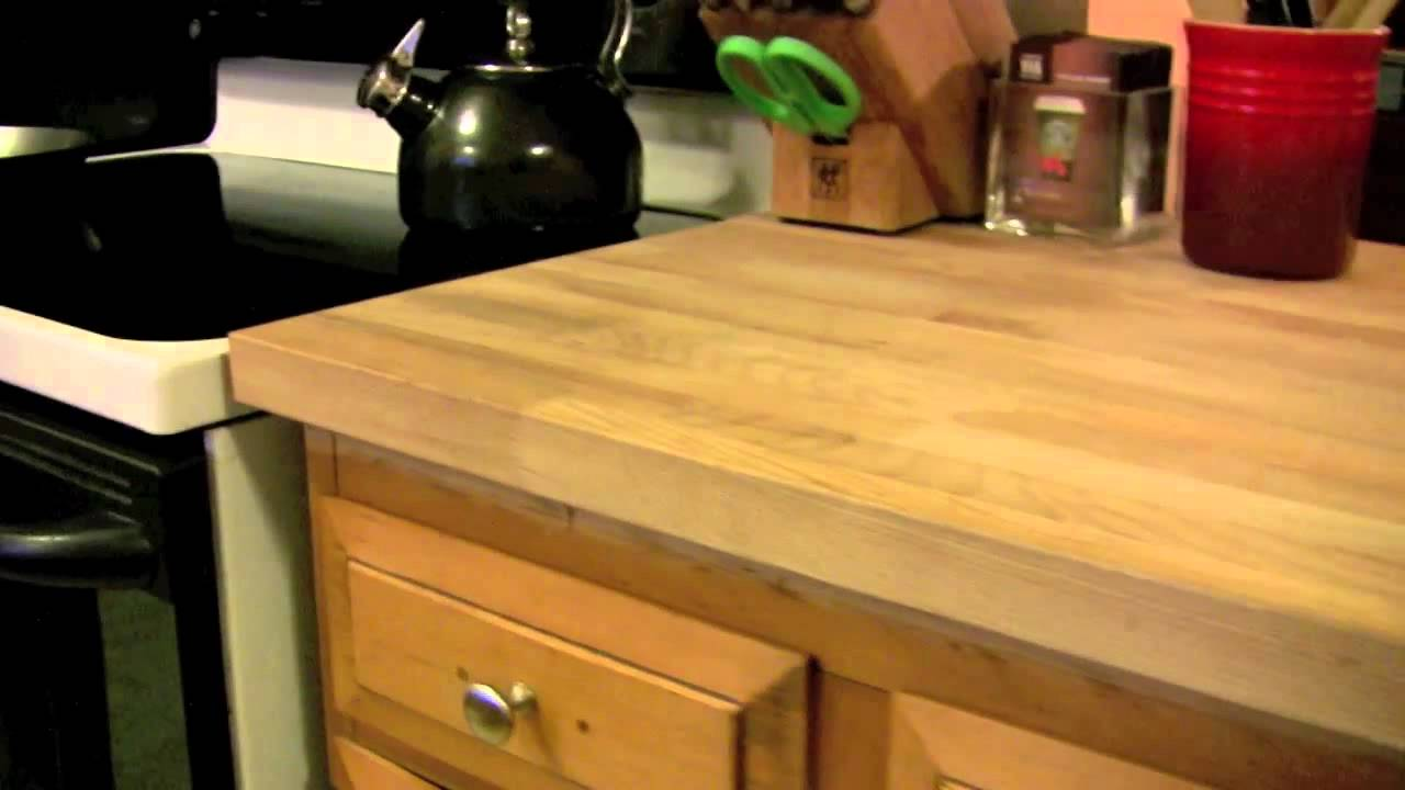 Ikea Diy Kitchen Countertop Numerar Cheap Butcher Block